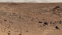 Mars Rover Goes West (© NASA)